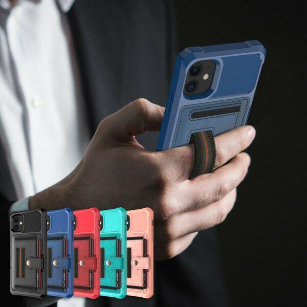 iPhone 11 Pro Deksel Armor Wallet Pro