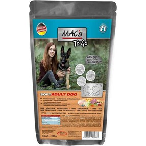 Mac's Soft Chicken, Duck, Turkey 230g Hundefor