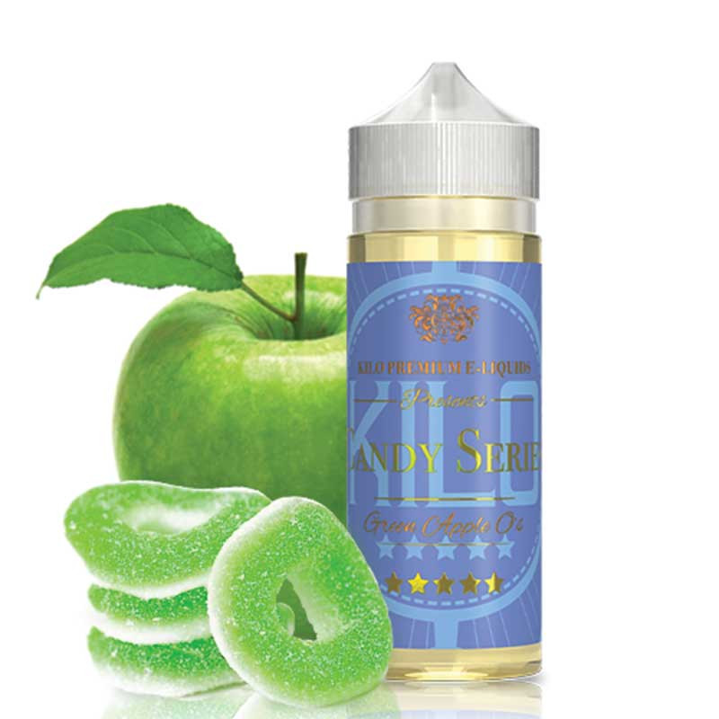 KILO CANDY SERIES GREEN APPLE O'S