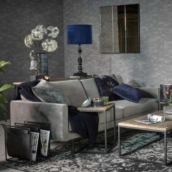 Genua grey velvet Trend Collection