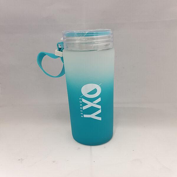 Glassflaske Hello 0.5L Blå