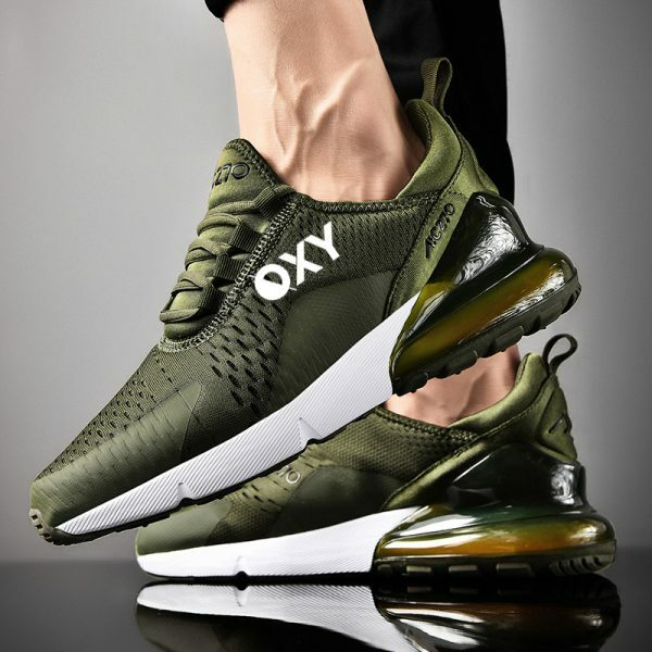 OXY Athletic RUN AIR Grønn Joggesko
