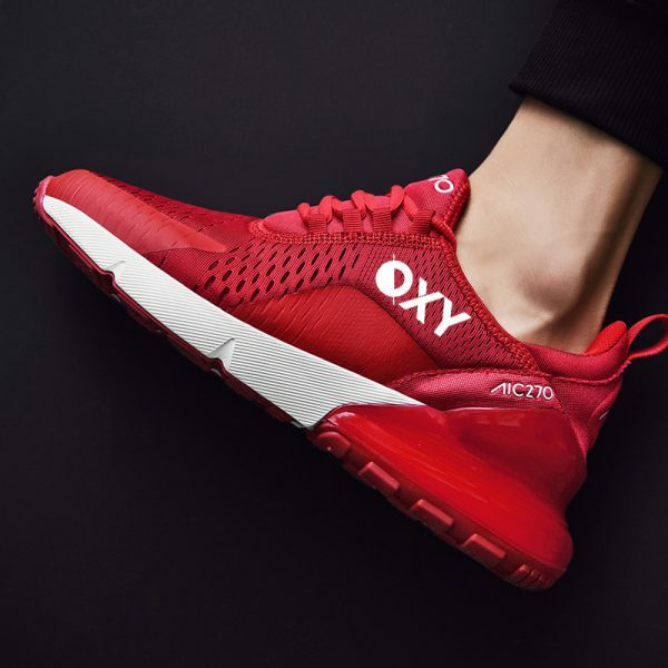 OXY Athletic RUN AIR Rød Joggesko