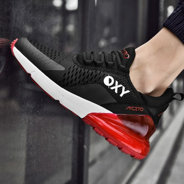 OXY Athletic RUN AIR Sort/Rød