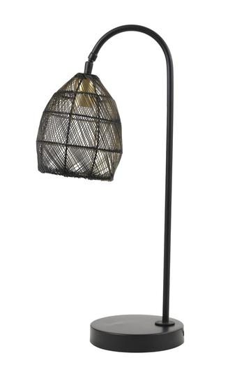"Bordlampe - ""Black Nest"""