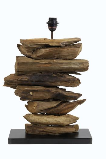 """Bordlampe - """"Driftwood"""" Horizontal"""