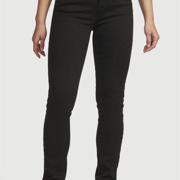 Formede jeans hög midja'