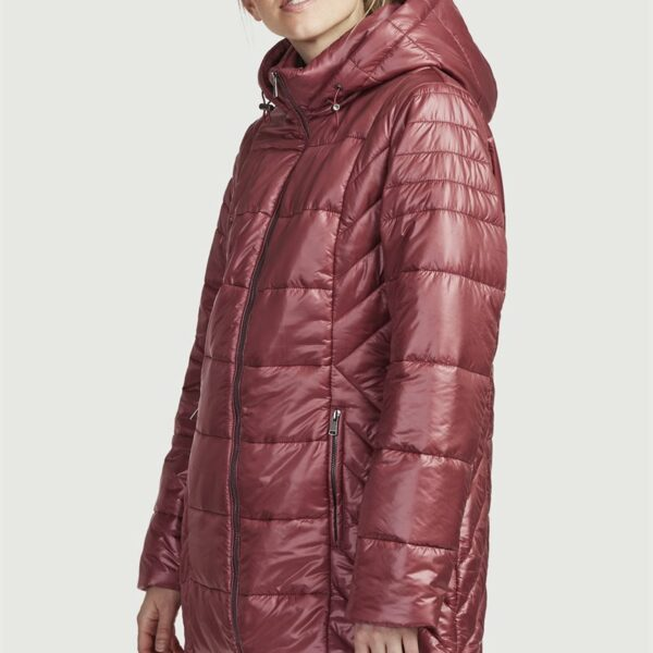 Polstre jakke med vakkert
