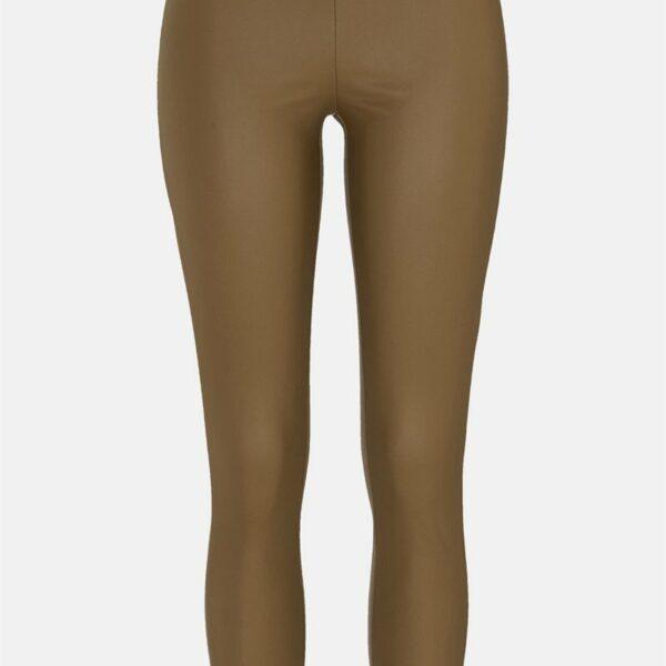 Bukse i imitert skinn Pam'
