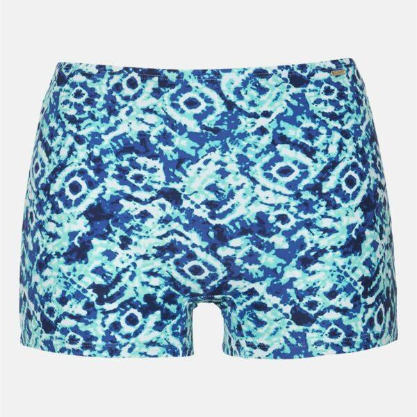 Blåmønstret bikinitruse bokser'