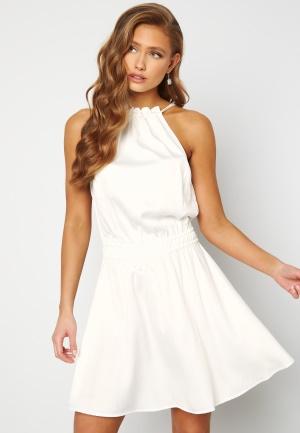 BUBBLEROOM Anya High Neck Dress White 38
