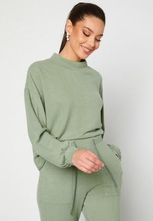 BUBBLEROOM Juno supersoft sweater Green L