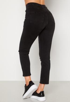 BUBBLEROOM Lana high waist jeans Black denim 36