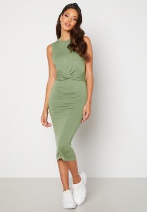 BUBBLEROOM Nova knitted dress Dusty green XL