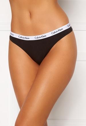 Calvin Klein 3P Thong 001 Black XL