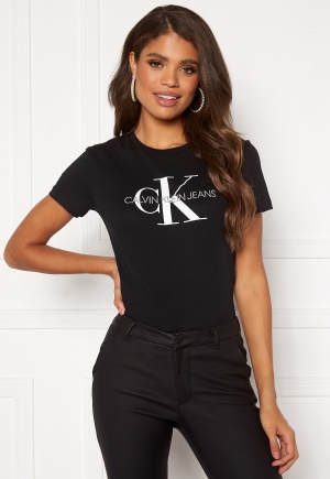Calvin Klein Jeans Monogram Regular Fit Tee 099 CK Black XXS