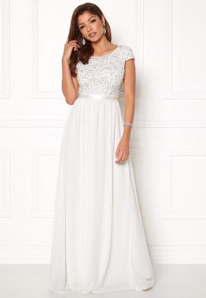 Chiara Forthi Viviere Sparkling Gown White 36