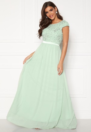 Chiara Forthi Viviere Sparkling Gown Light green 38