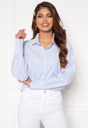 Happy Holly Isa puff sleeve shirt Striped 52/54