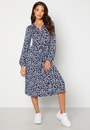 Happy Holly Linda dress Blue / Patterned 40/42