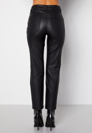 Happy Holly Maja coated pants Black 52