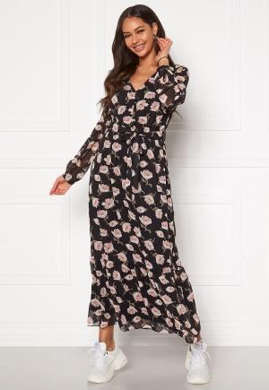 Happy Holly Ninni maxi dress Black / Patterned 32/34