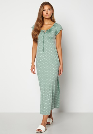 Happy Holly Tessie maxi dress Light mint / Offwhite 48/50S