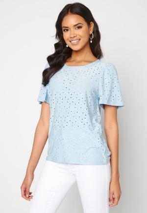 ICHI Umay T-shirt Cashmere Blue XS