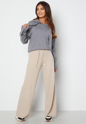 Object Collectors Item Devoe Knit Pants Silver Gray M