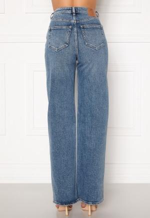 ONLY Juicy HW MB Wide Leg Jeans Medium Blue Denim 25/34