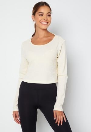 ONLY PLAY Jeo LS Wrap Top Whisper White M