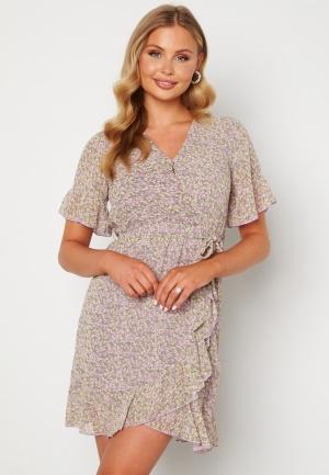 Sisters Point New Greto Dress 301 Green/Lilac L