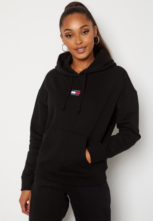 TOMMY JEANS Center Badge Hoodie BDS Black S