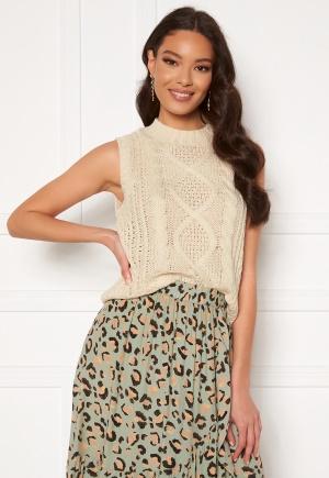 VILA Atlan Knit Vest Birch XL