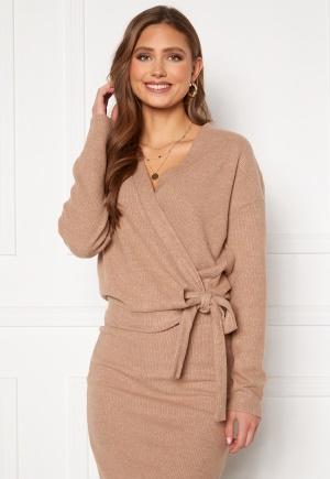 VILA Haudi L/S Wrap Knit Cardigan Nomad S