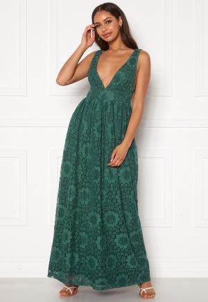 Y.A.S Cheshire SL Maxi Dress Evergreen S